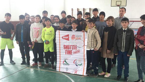Сборная Таджикистана по бадминтону провела товарищеские матчи с Пакистаном - Sputnik Таджикистан