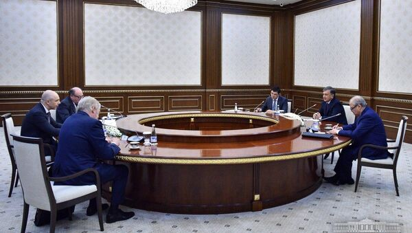 Президент Узбекистана принял министра финансов России - Sputnik Таджикистан