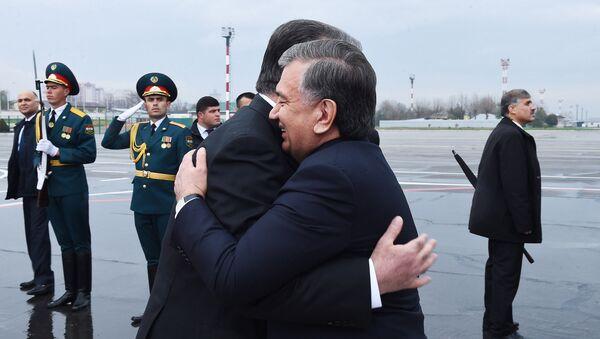 Визит Шавката Мирзиёева в Душанбе - Sputnik Тоҷикистон