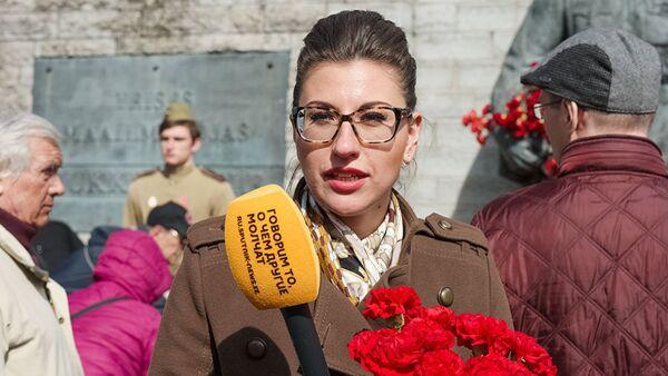 Депутат парламента Эстонии Ольга Иванова - Sputnik Таджикистан