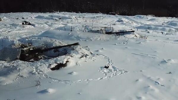 Минобороны РФ опубликовало видео стрельб снарядами Краснополь - Sputnik Таджикистан