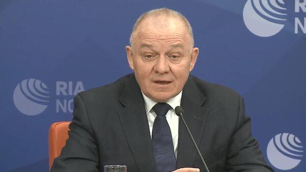 Генеральный директор Делового центра экономического развития СНГ Владимир Савченко, архивное фото - Sputnik Таджикистан