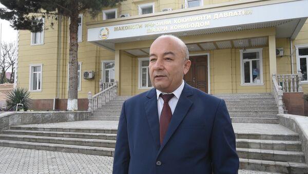 Заместитель председателя Канибадама Хомид Илхом Мухтор об открытии КПП - Sputnik Таджикистан
