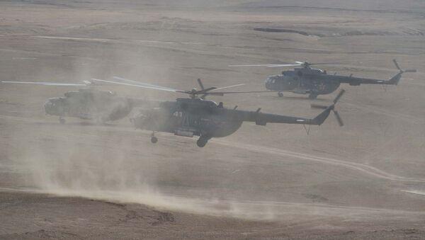 Военные учения РВБ в Таджикистане, архивное фото - Sputnik Таджикистан