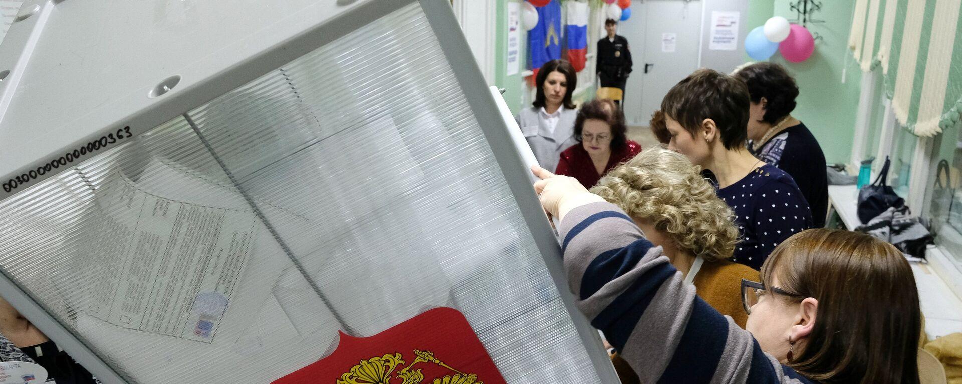 Подсчет голосов на выборах президента РФ - Sputnik Тоҷикистон, 1920, 11.01.2021