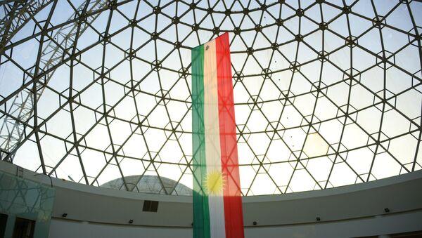 Флаг Иракского Курдистана - Sputnik Тоҷикистон