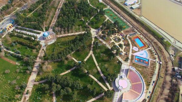 Новая площадка для детей Мир сказки в Душанбе - Sputnik Тоҷикистон