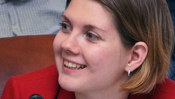Анастасия Лихачева, архивное фото - Sputnik Таджикистан