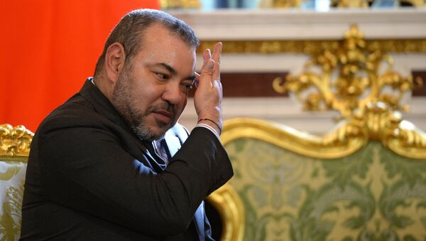 Король Марокко Мухаммед VI - Sputnik Тоҷикистон