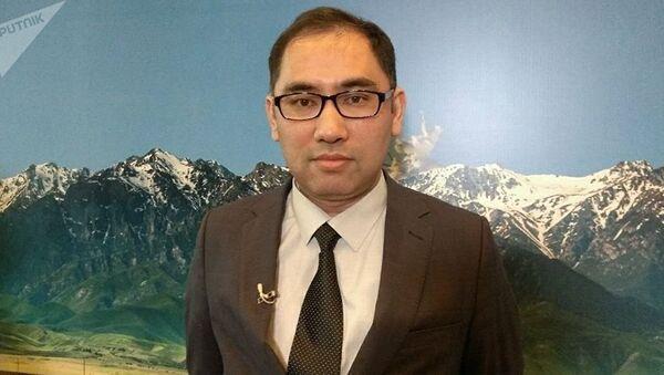 Заместитель председателя Государственного комитета Узбекистана по развитию туризма Шахрух Шарахметов - Sputnik Таджикистан