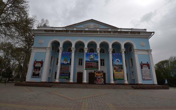 Театр Лахути, архивное фото - Sputnik Таджикистан