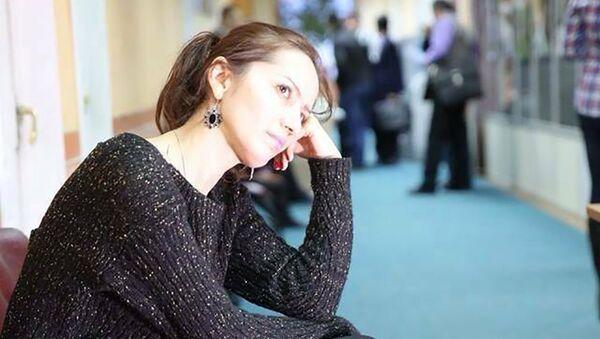 Адиба Азиз таджикская поэтесса, архивное фото - Sputnik Тоҷикистон