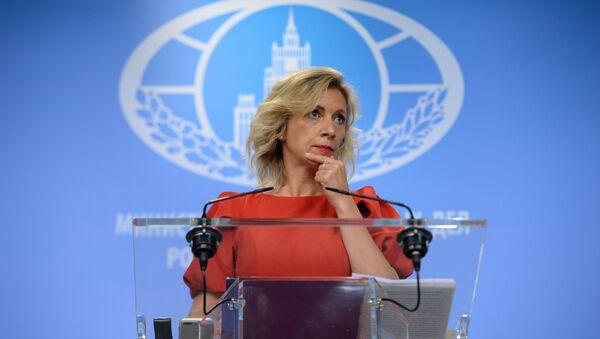 Официальный представитель Министерства иностранных дел России Мария Захарова - Sputnik Таджикистан