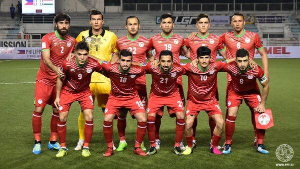 Сборная по футболу Таджикистана, архивное фото - Sputnik Тоҷикистон