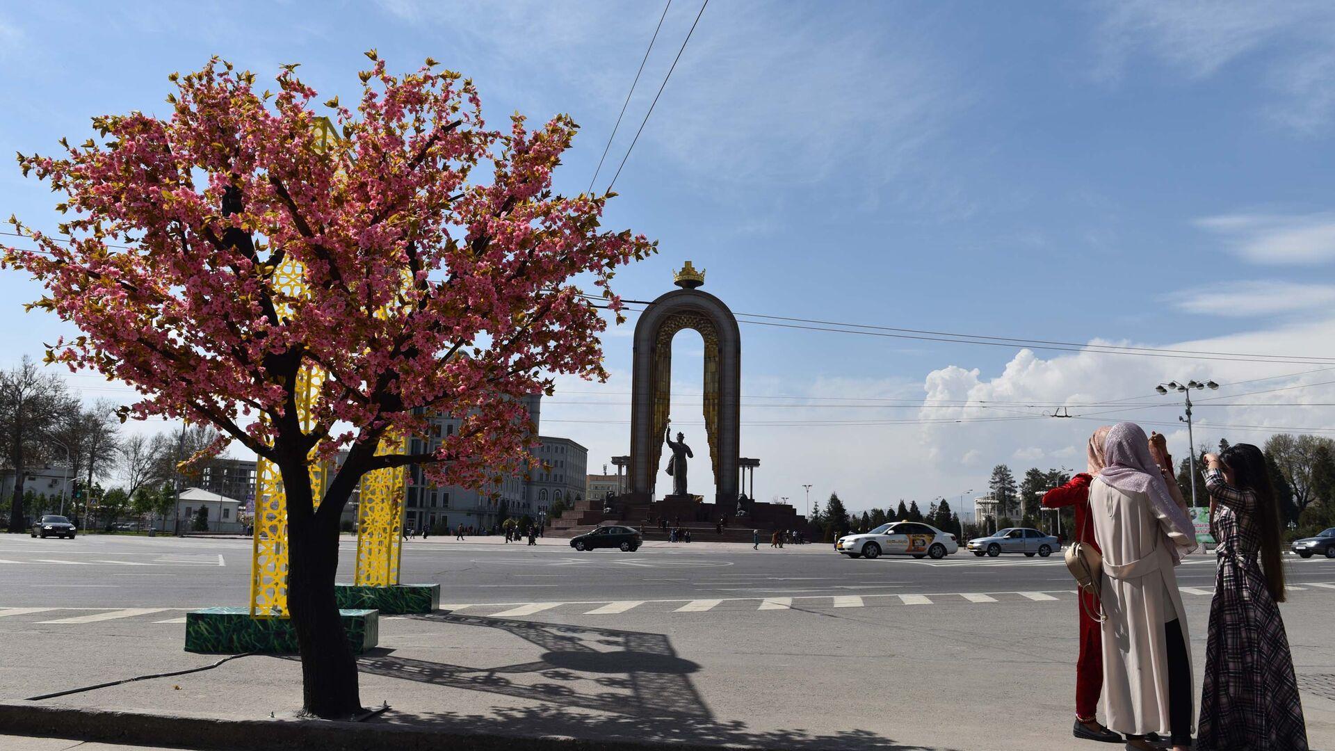 Город Душанбе, архивное фото - Sputnik Тоҷикистон, 1920, 21.08.2021