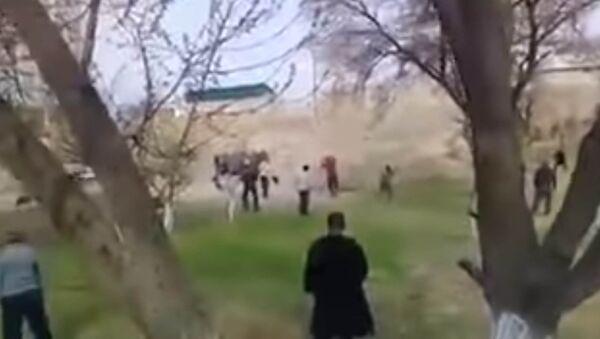 Массовые столкновения на киргизско-таджикской границе - Sputnik Таджикистан