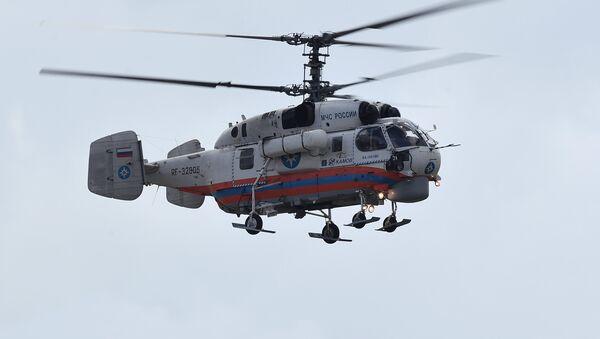 Многоцелевой средний транспортный вертолет Ка-32А11ВС, архивное фото - Sputnik Таджикистан