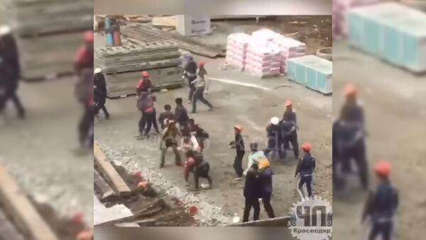 Драка в ЖК Тургенев, Краснодар - Sputnik Таджикистан