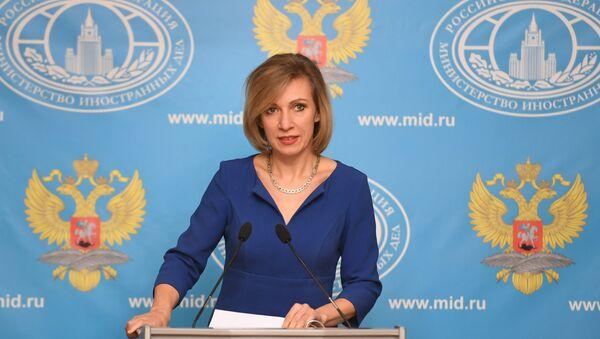 Официальный представитель Министерства иностранных дел РФ Мария Захарова - Sputnik Таджикистан