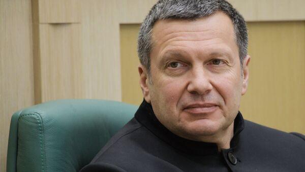 Журналист, теле- и радиоведущий Владимир Соловьев - Sputnik Таджикистан