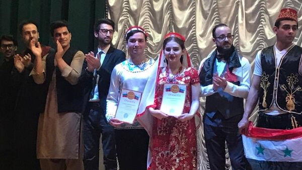 Таджикистан занял второе место на фестивале Культура народов мира - Sputnik Тоҷикистон