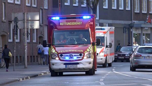 LKW fährt in Menschenmenge in Münster: Tote und Verletzte - Sputnik Тоҷикистон