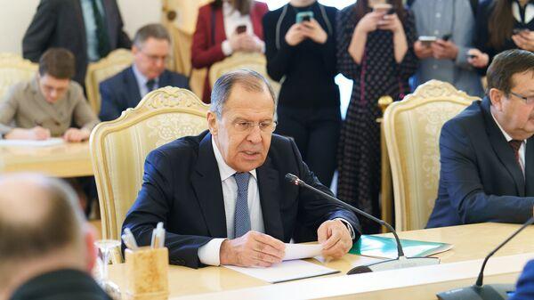 Глава МИД России Сергей Лавров - Sputnik Таджикистан
