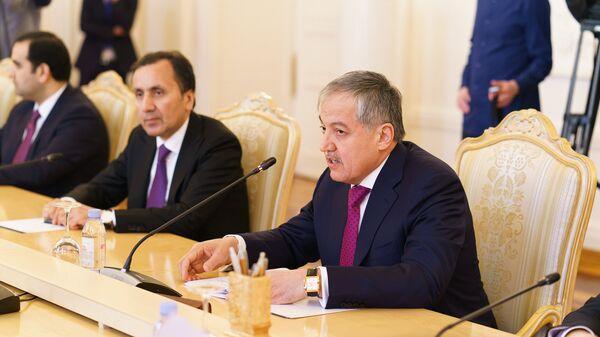 Министр иностранных дел Таджикистана Сироджиддин Аслов - Sputnik Таджикистан