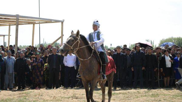Мероприятие, посвященное Амиру Темуру, в поселке Ходжа Илгор - Sputnik Таджикистан