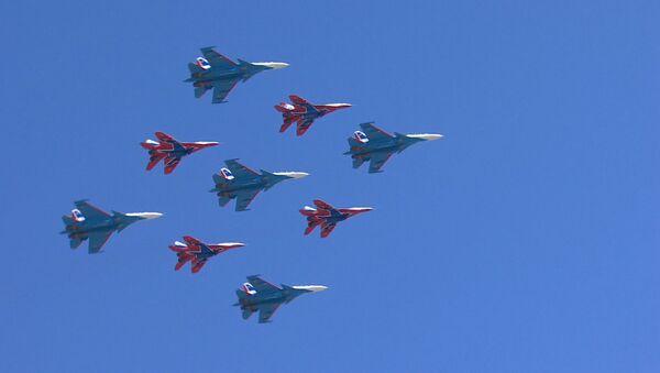 Подготовка ко дню Победы в Москве - Sputnik Таджикистан