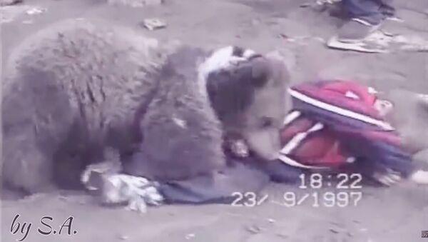 Юный Хабиб Нурмагомедов одолел зверя - Sputnik Таджикистан