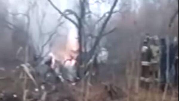 Под Хабаровском разбился вертолёт Ми-8. - Sputnik Тоҷикистон
