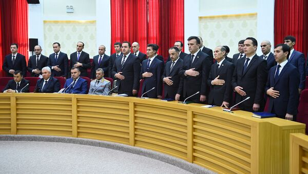 Новые кадры на встречи с президентом Таджикиктана Эмомали Рахмоном - Sputnik Тоҷикистон