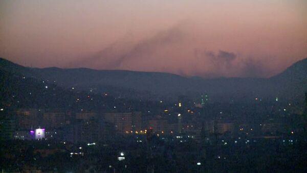 Бомбардировка Дамаска - Sputnik Таджикистан