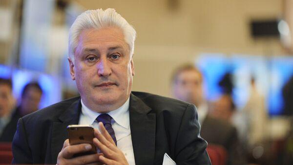 Главный редактор журнала Национальная оборона Игорь Коротченко - Sputnik Тоҷикистон