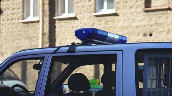 Автомобиль полиции, архивное фото - Sputnik Тоҷикистон