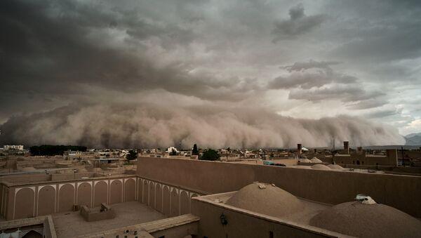 Песчаная буря в Иране - Sputnik Таджикистан