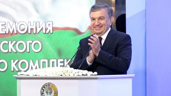 Мирзиёев поздравил Узбекистан с запуском Кандымского чуда - Sputnik Тоҷикистон