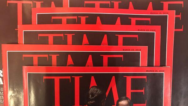 Обложка журнала TIME, архивное фото - Sputnik Таджикистан