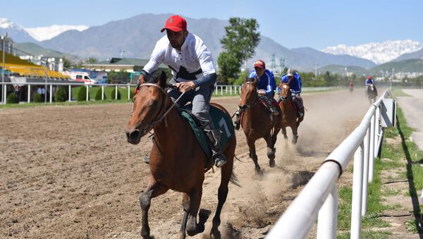 Скачки в Душанбе - Sputnik Таджикистан