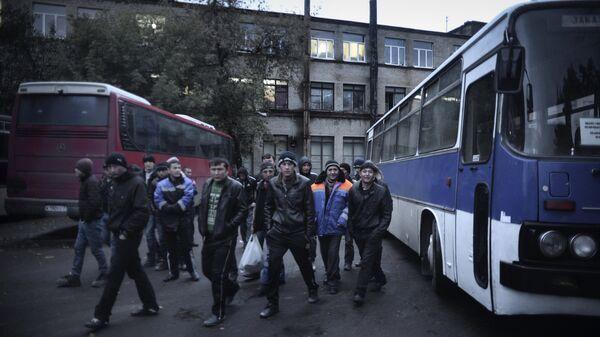 Иностранные рабочие - Sputnik Таджикистан