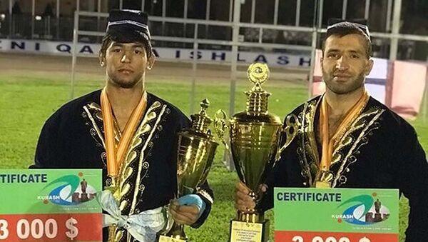 Устопириён и Ходжазода выиграли золотые медали в Узбекистане - Sputnik Таджикистан