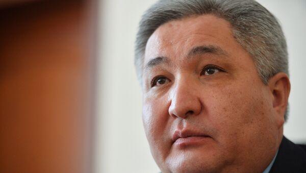 Чрезвычайный и Полномочный Посол Кыргызской Республики в России Болот Отунбаев. - Sputnik Таджикистан