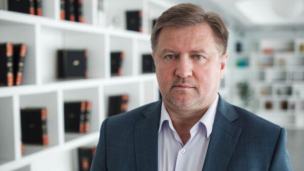 Генеральный директор института Евразийского экономического сотрудничества Владимир Лепехин, архивное фото - Sputnik Таджикистан