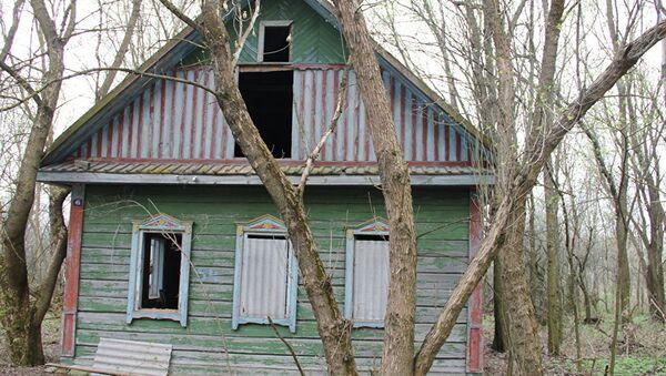 Дом в зоне отчуждения, архивное фото - Sputnik Таджикистан