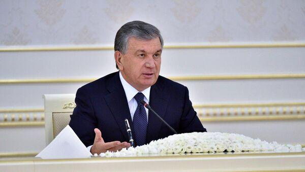 Президент Узбекистана Шавкат Мирзиёев - Sputnik Таджикистан