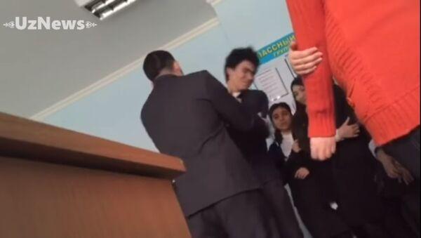 Преподаватель лицея при УЗГУМЯ ударил учащегося - Sputnik Таджикистан