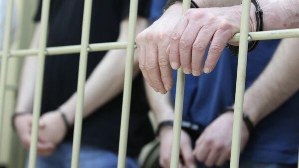 Руки в наручниках - Sputnik Таджикистан
