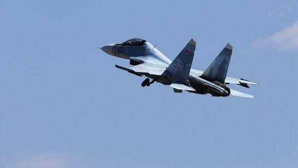 Многоцелевой истребитель Су-30, архивное фото - Sputnik Таджикистан