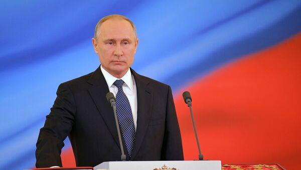 Инаугурация президента России В. Путина - Sputnik Таджикистан